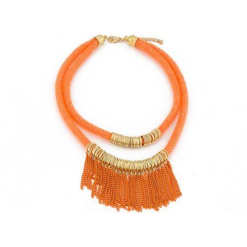 NASZYJNIK AMAZING ORANGE - ORANGE, kolor pomarańczowy