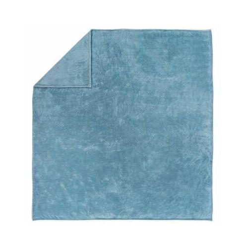 Pled FLAMINGO turkusowy 200 x 220 cm INSPIRE, kolor niebieski