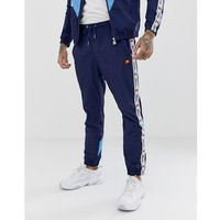 ellesse Avico co-ord track joggers with taping in navy - Navy, kolor szary