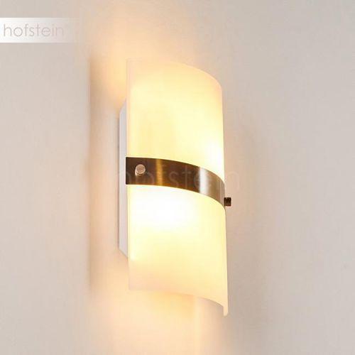 Hofstein Sibo lampa ścienna stal nierdzewna, 2-punktowe - nowoczesny - obszar wewnętrzny - sibo - czas dostawy: od 3-6 dni roboczych (4058383029701)