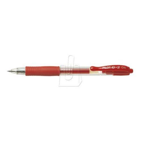 Długopis żelowy G2 czerwony [12 szt.]