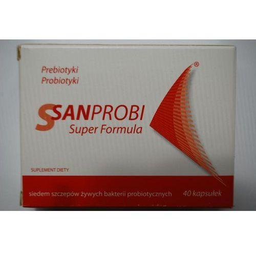 Sanprobi Super Formula kaps. 40 kaps. (5907774335022). Najniższe ceny, najlepsze promocje w sklepach, opinie.