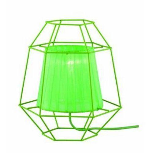 Lampka stołowa/nocna cage r50251015 -zielona marki Trio