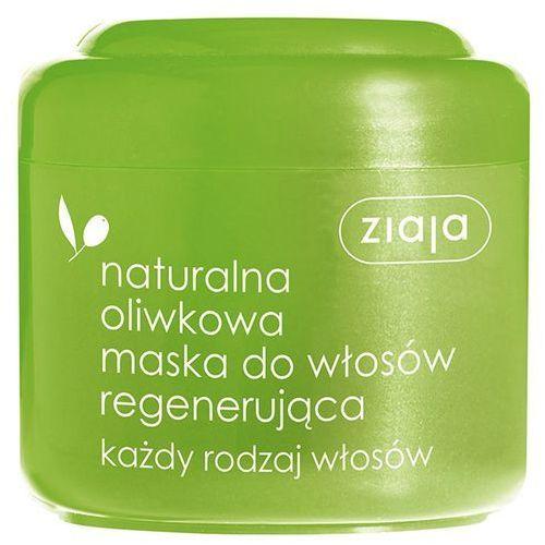 ZIAJA 200ml Naturalna Oliwkowa Maska do włosów regenerująca