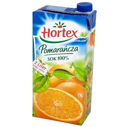 Hortex  2l pomarańcza sok 100% | darmowa dostawa od 150 zł!