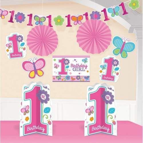 Zestaw dekoracyjny Dziewczynka, 10 elementów, 5_613100
