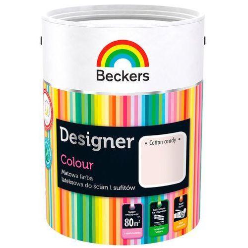 Beckers Farba Lateksowa Designer Colour Cotton Candy 5L, TIK8428903005