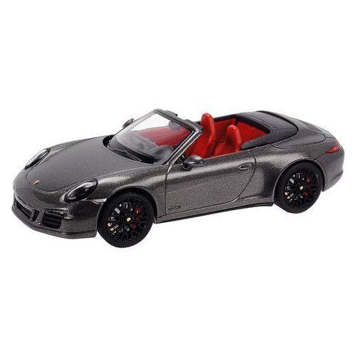 Schuco Model  porsche 911 carrera gts cabrio szary + darmowy transport! (4007864075775)