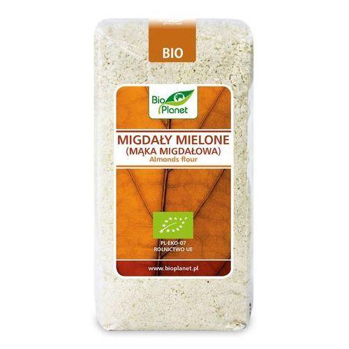 Bio planet - seria brązowa (orzechy i pestki) Migdały mielone (mąka migdałowa) bio 500 g - bio planet (5902983786818)