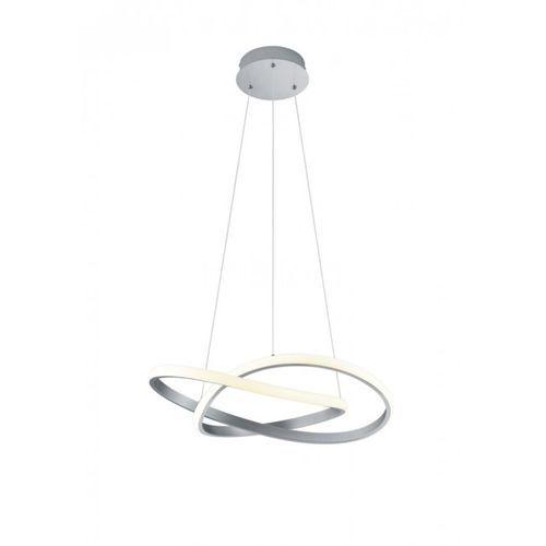 Reality course lampa wisząca led nikiel matowy, 1-punktowy - nowoczesny - obszar wewnętrzny - course - czas dostawy: od 3-6 dni roboczych