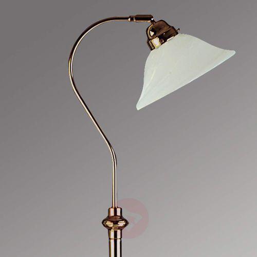 Searchlight Czarująca lampa stojąca bjane, stary mosiądz