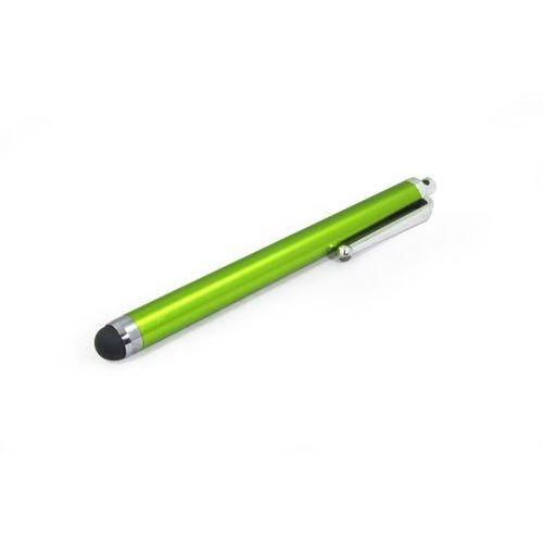 Rysik pojemnościowy do ekranów LCD - limonkowy długopis, RY000000RMAXLIM000
