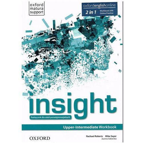 Insight Upper-Intermediate. Ćwiczenia + Online Practice, oprawa miękka