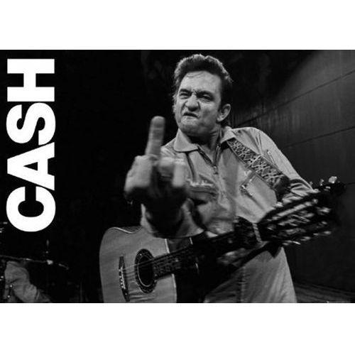 Gb Johnny cash koncert w san quentin - plakat