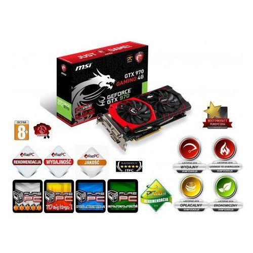 MSI GeForce GTX 970 GAMING 4096 MB DDR5 - (GTX 970 GAMING 4G)