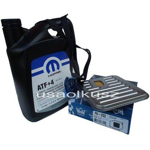 ORYGINALNY olej MOPAR ATF+4 5l oraz filtr oleju automatycznej skrzyni biegów Chrysler LHS