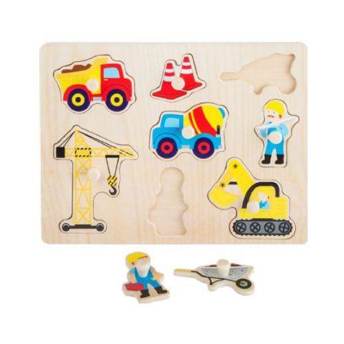 Puzzle plac budowy kreatywna układanka dla dzieci marki Small foot design