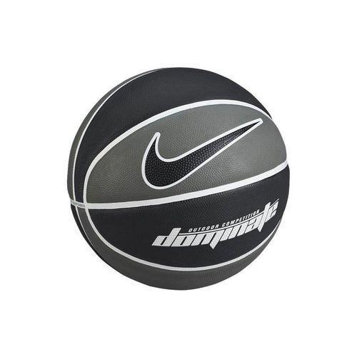 Nike Piłka koszowa dominate 7  - szaro-czarny - czarny