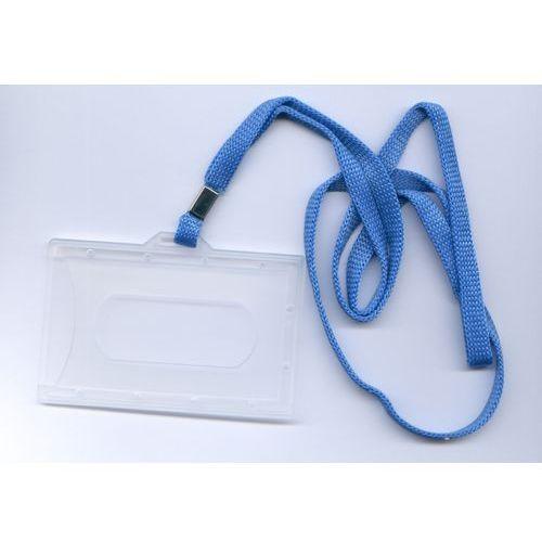 Etui.tn » etui do karty z tasiemką niebieską na szyję 10 szt. marki Micromade
