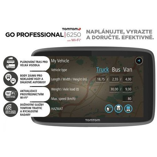 OKAZJA - TomTom GO Professional 6250 EU
