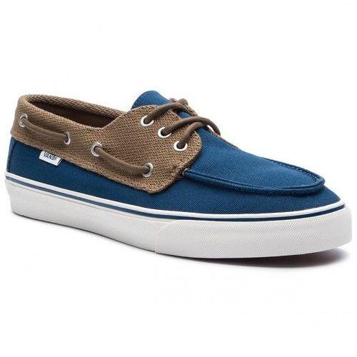 Nowe buty chauffeur sf sailor blue/breen rozmiar 42/27cm marki Vans