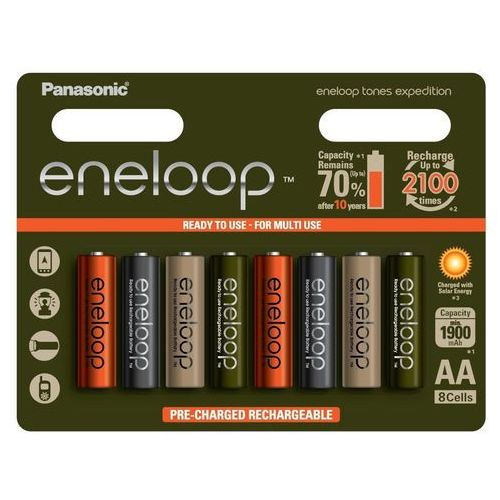 Akumulatorki eneloop expedition r6/aa 1900mah - 8szt marki Panasonic