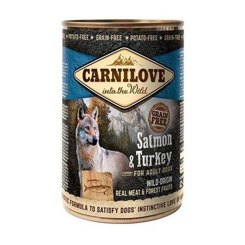 Brit  carnilove salmon & turkey 400g puszka