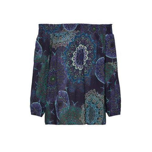 Desigual damska bluzka Blus Amandine XS ciemnoniebieski, w 6 rozmiarach