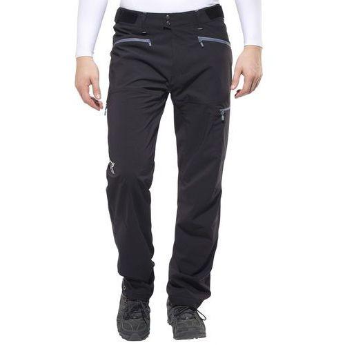 falketind flex1 spodnie długie mężczyźni czarny xl 2018 spodnie softshell marki Norrøna