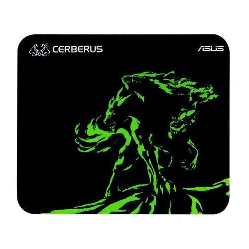 Asus Podkładka rog cerberus mat mini czarno-zielony (90yh01c4-bdua00) (4712900829747)