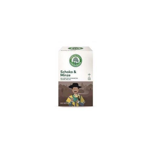 Lebensbaum (przyprawy, herbaty, kawy) Herbatka czekoladowa z miętą ekspresowa bio (20 x 2 g) herbata lebensbaum (4012346206905)