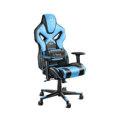 Fotel chairs x-fighter czarno-niebieski darmowy transport marki Diablo