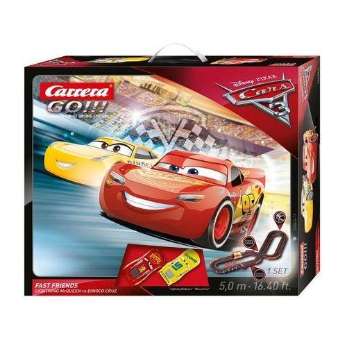 Go!!! disney/pixar - cars 3 fast friends - darmowa dostawa!!! marki Carrera