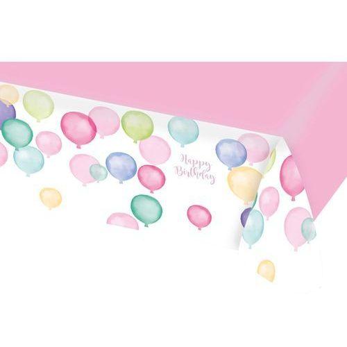 Amscan Obrus urodzinowy baloniki - 115x175 cm - 1 szt.