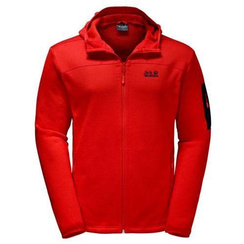 Kurtka polarowa castle rock hooded jacket, Jack wolfskin