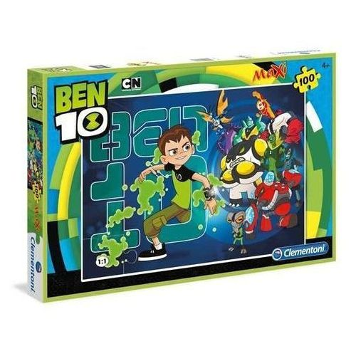 100 elementów MAXI Linia Specjalna Ben 10