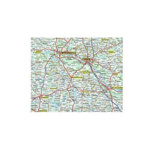 Polska. Mapa ścienna drogowa 1:800 tys - Praca Zbiorowa (9783625140498)
