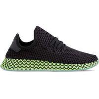 Adidas deerupt runner core black core black ash blue - buty męskie sneakersy