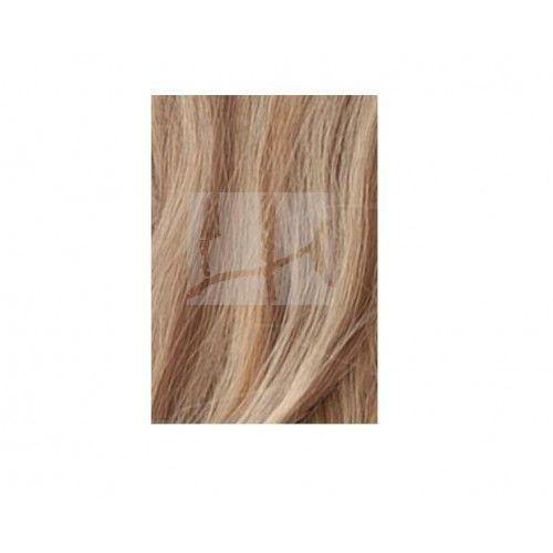 Włosy na ringi - kolor: #613/#6 baleyage - 20 pasm kręcone marki Longhair