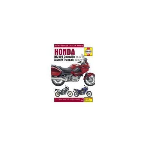 Honda NTV700V Deauville & XL700V Transalp Service and Repair