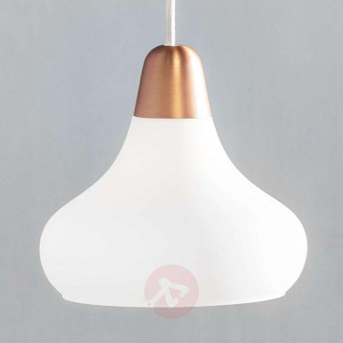 Nordlux Lampa wisząca 78173030, e27 (Øxw) 21.5 cmx19 cm, miedź, biały