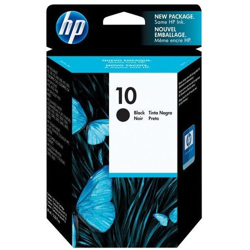 Hp oryginalny ink c4844a, no.10, black, 1400s, 69ml, hp deskjet 2xxx, business inkjet 2xxx, designjet 5xx marki Hewlett-packard