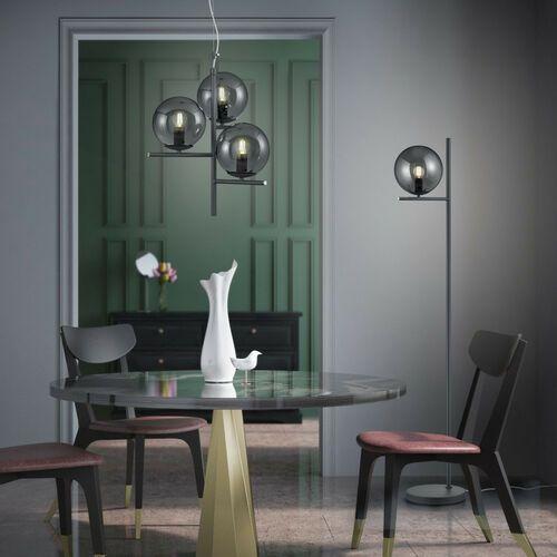 Trio Lampa wisząca leuchten pure antracytowy, 3-punktowe - dworek - obszar wewnętrzny - pure - czas dostawy: od 2-3 tygodni