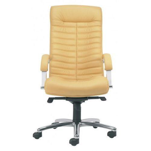 Fotel gabinetowy orion steel04 chrome - biurowy, krzesło obrotowe, biurowe marki Nowy styl