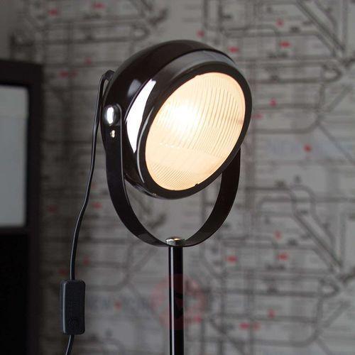 rider lampy stojące czarny, 1-punktowy - klasyczny - obszar wewnętrzny - rider - czas dostawy: od 4-8 dni roboczych marki Brilliant