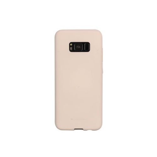 Samsung Galaxy S8 - etui na telefon Mercury Goospery Soft Feeling - piaskowy róż, ETSM489GMSFPIA000