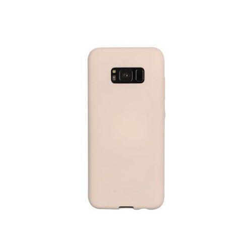 Samsung Galaxy S8 - etui na telefon Mercury Goospery Soft Feeling - piaskowy róż