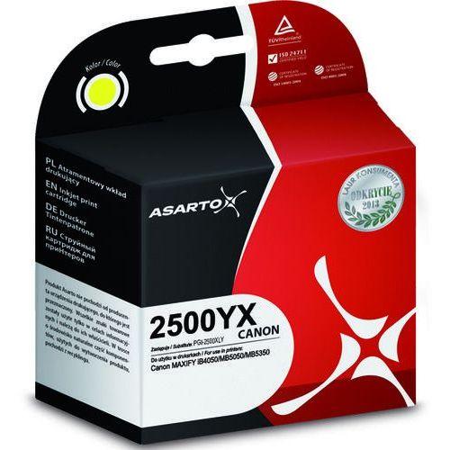 Tusz Asarto do Canon PGI-2500XLY | MAXIFY iB450/MB5050/MB5350 | 1520str | yellow (5901741406999)