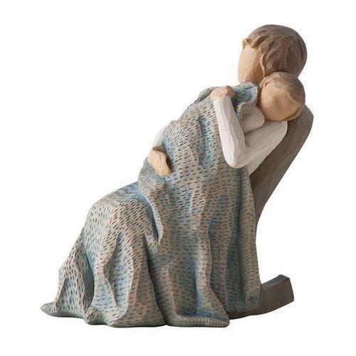 Ciepło i spokój śpiącego dziecka.. the quilt 26250 susan lordi marki Willow tree