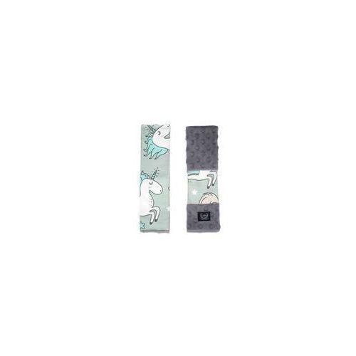 Ochraniacze na pasy Seatbelt Cover La Millou (rainbow knight grey by Bohosiewicz)